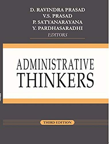 Administrative thinkers by Prasad and prasad