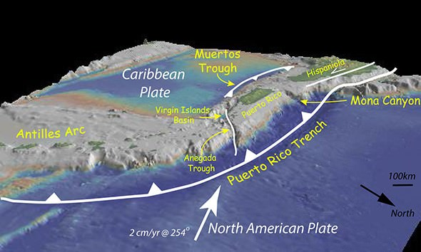 Formation of Caribbean Islands - tectonics - Copy