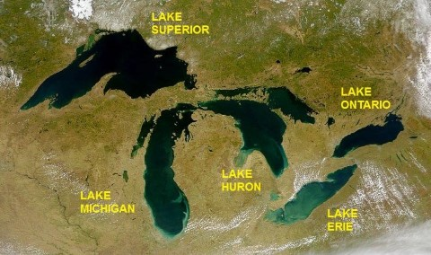 Great Lakes -USA Canada