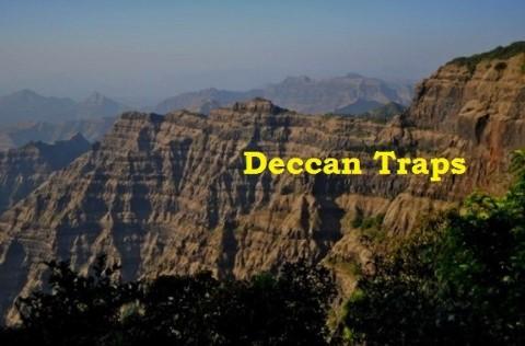Volcanic plateau - deccan traps
