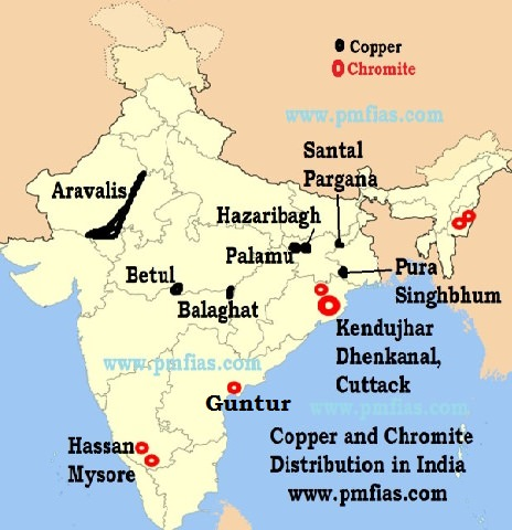 Chromite Chromite Ore Distribution In India