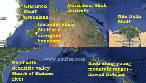 Continental Shelf types