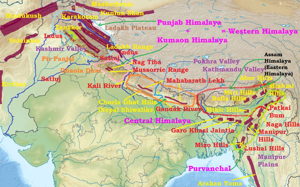 physiographic maps with Himalayas Glaciers Valleys Snowline Significance Himalayas Karewas on Upsc Exam Types Of Maps In Geography further Map as well 37625 additionally Cartes Utiles in addition maps Of The Usa.
