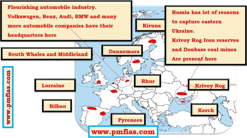 Iron Ore in Europe – Ruhr, South Whales, Krivoy Rog, Bilbao, Lorraine