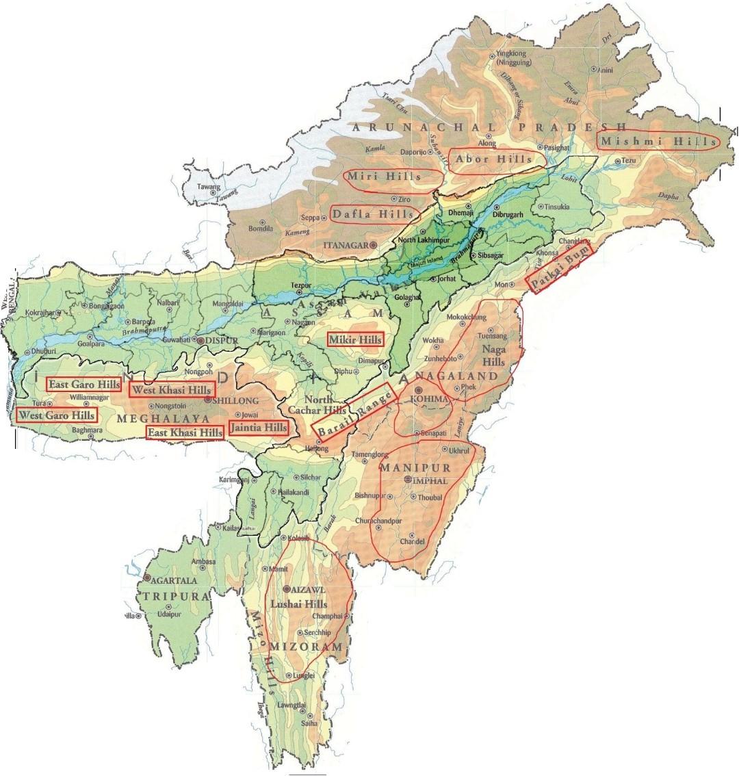 Purvanchal - Eastern Himalayas