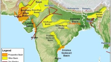 Shale Gas Reserves in India