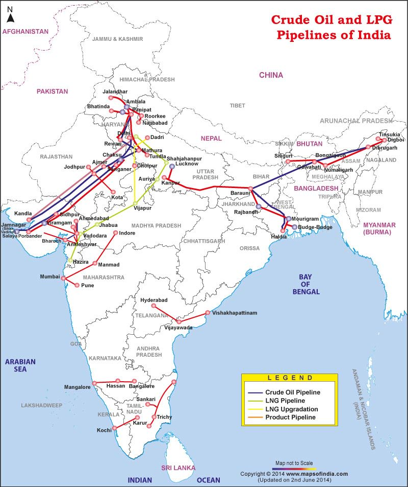 crude-oil-lpg-pipelines-india