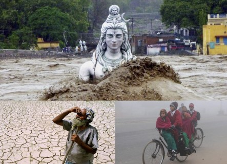 indian climate drought floods