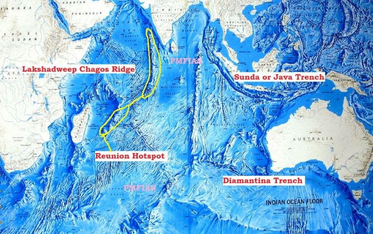 indian ocean relief trenches