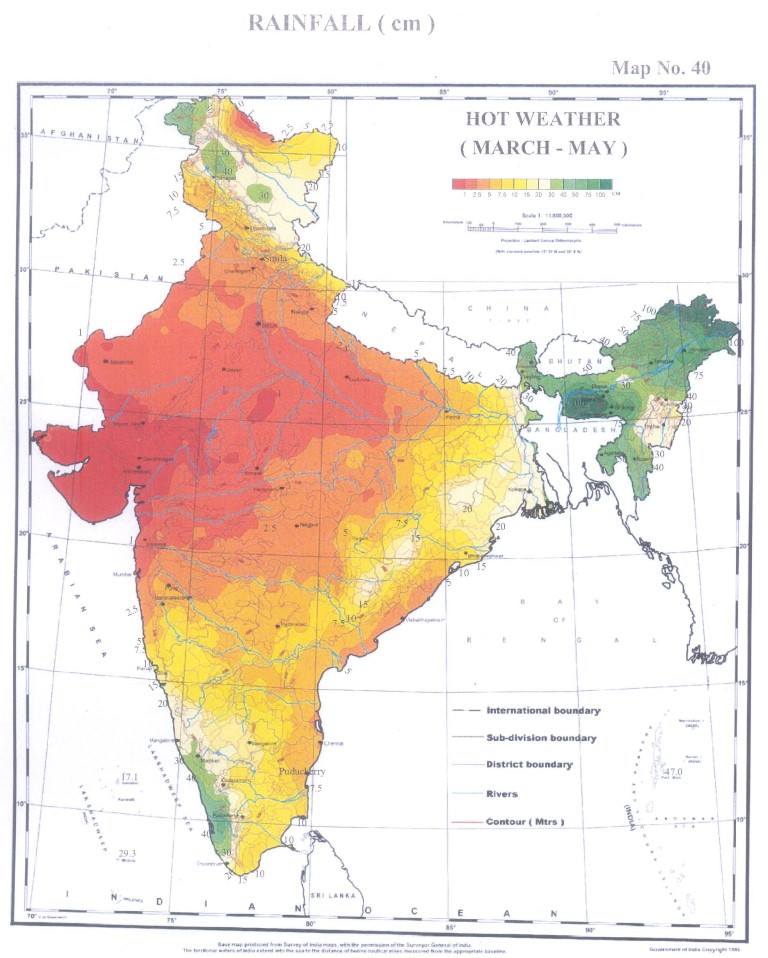 Indian Climate: Summer & Winter Seasons | PMF IAS