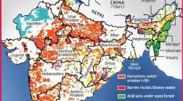 soil-land degradation in india