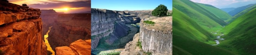 valley - canyon-gorge