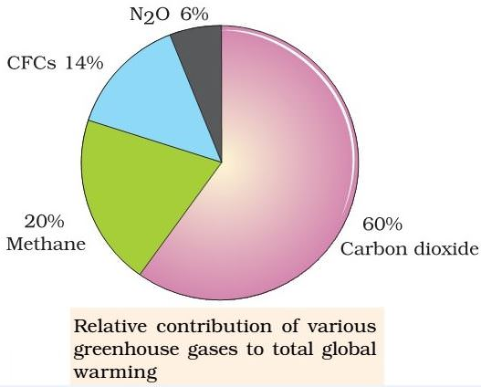 greenhouse gasses contribution