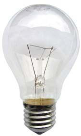 Tungsten Lamp or incandescent light bulb