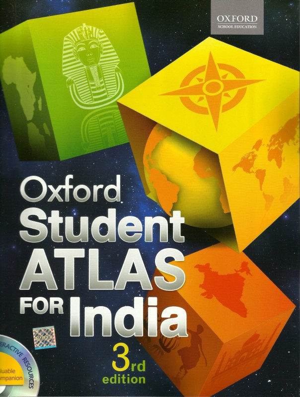 Oxford Student Atlas For India 3 Edition(English, Paperback, Oxford)