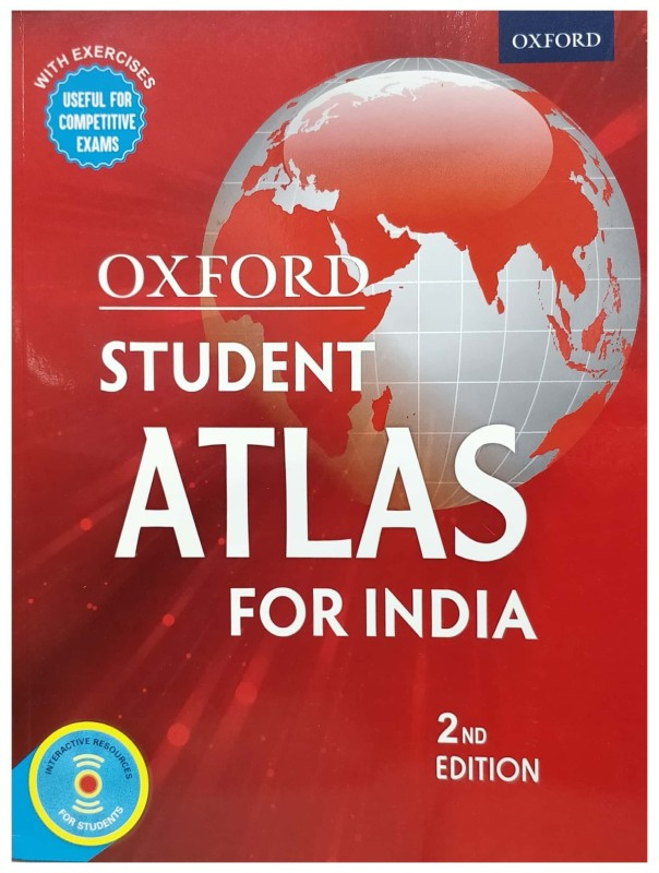 Oxford Student Atlas for India(English, Paperback, Oxford University Press)