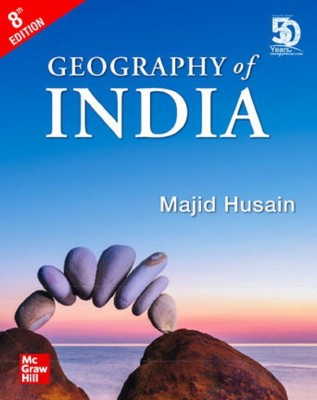 Geography of India for Civil Services and other Competitive Examination, 8/E(English, Paperback, Majid Husain)