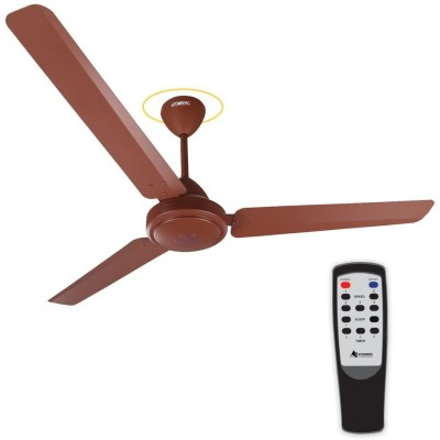 Gorilla Efficio 1200 mm BLDC Motor with Remote 3 Blade Ceiling Fan(Matte Brown, Pack of 1)