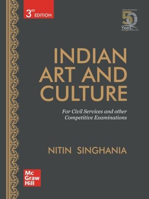 Indian Art and Culture for Civil Services and other competitive examinations(English, Paperback, Nitin Singhania)