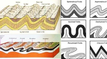 'Fold' in geology - Types of Folds