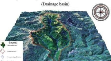 Drainage Systems Patterns Drainage basin