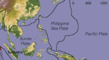 Ocean-Ocean Convergence Philippine Plate - Minor plates in the Southeast Asia