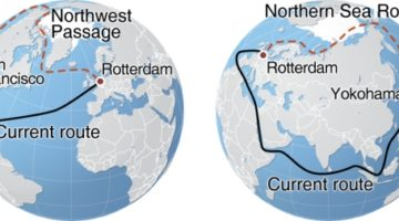 Northern Sea Route and Northwest Passage