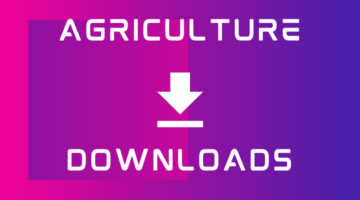 Agriculture Downloads